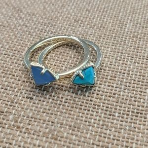 NOT A SET Kendra Scott Ring Turquoise Size 7